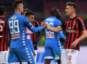 意大利巨人队在意大利杯半决赛中相遇