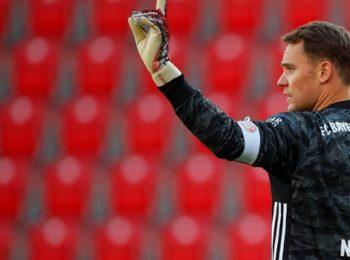 拜仁慕尼黑2-0战胜柏林联队,标志着德甲联赛重新开始