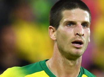 诺维奇城(Norwich City)的克洛泽(Timm Klose)向瑞士的巴塞尔(Basel)租借