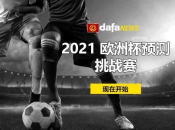 参加 2021 年欧洲杯预测者挑战赛